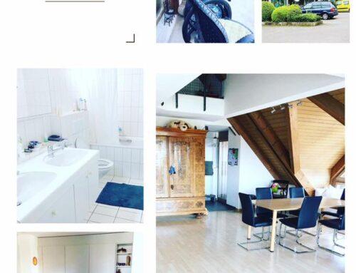 Maisonette 173 m2 mit sehr grossen Zimmern in Hombrechtikon ZH